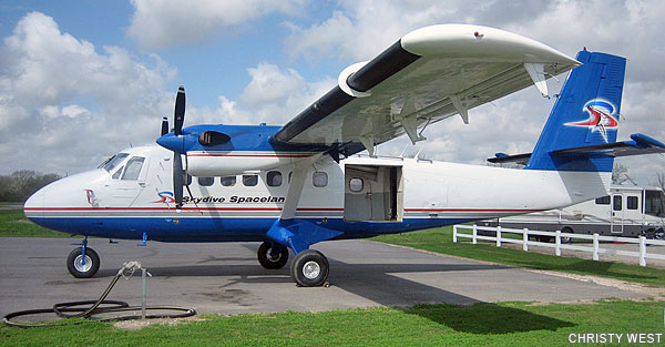 Skydive Spaceland Super Twin Otter