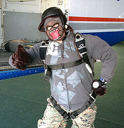 winter clothing for skydiving