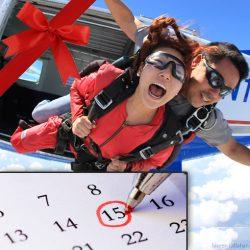 Redeem Tandem Skydiving Gifts