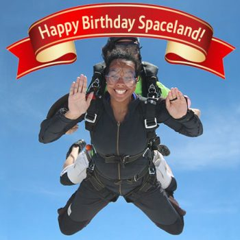 Skydive Spaceland Atlanta Birthday Special