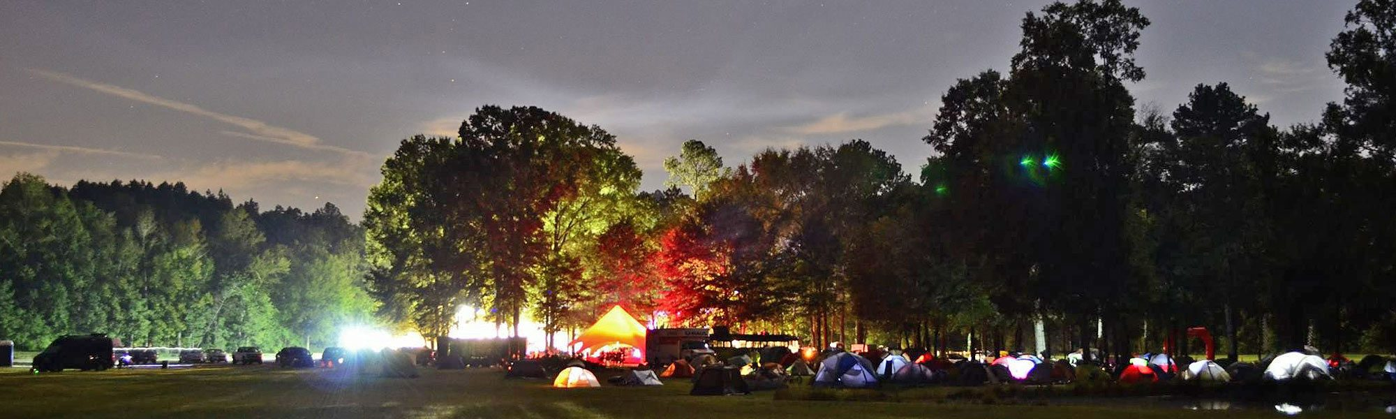 Camping at Skydive Spaceland Atlanta