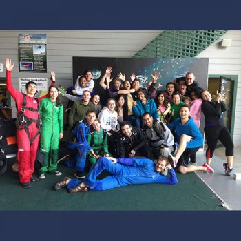 Skydiving Group Deposits